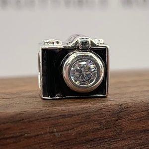 Pandora Camera silver charm #791709CZ